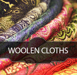 woolen cloths